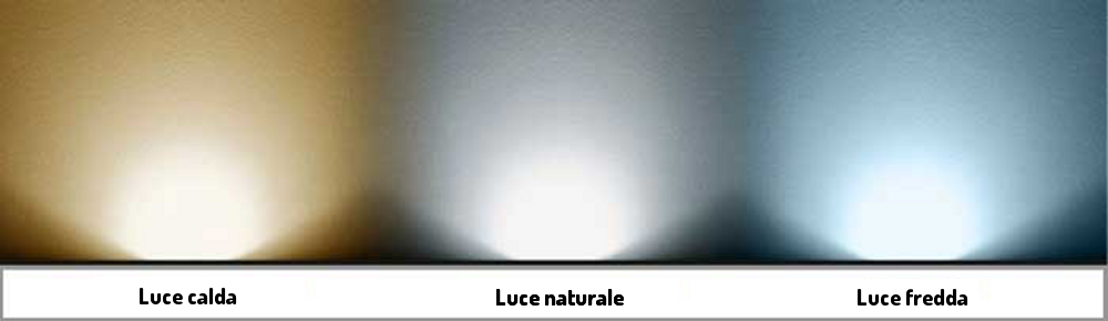 Gds tech for Luce a led calda